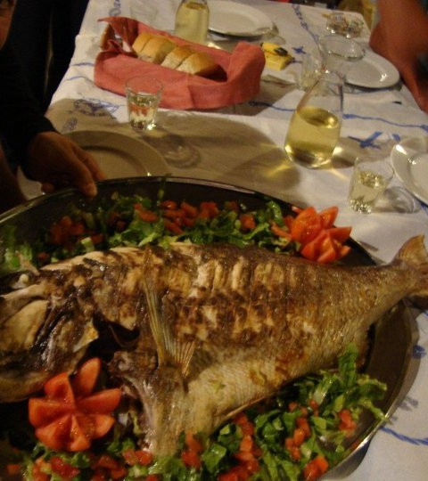 Koufonissia - our $400 fish for our feast
