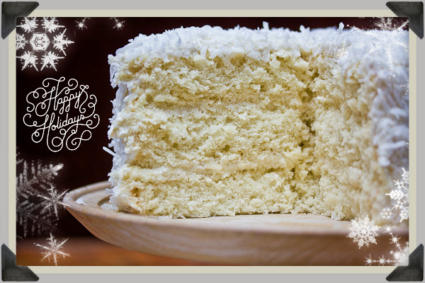 White Chocolate Coconut Cake Gourmet Girl Does Real Estate