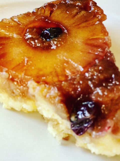 Pinapple Ricotta Upside Down Cake