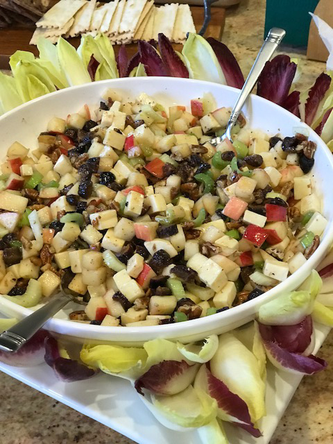 Apple Gruyer Salad